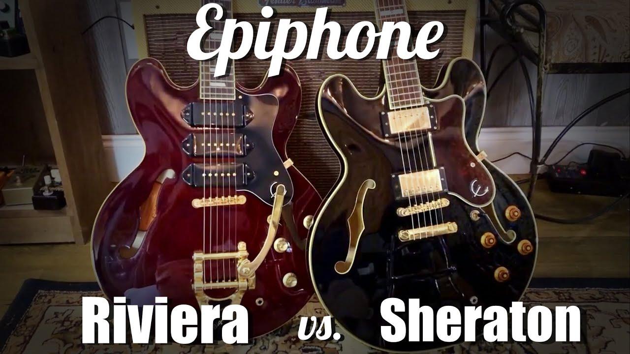 epiphone sheraton ii or casino