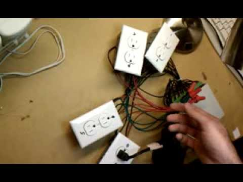 Serial Controlled Relay Electrical Outlets YouTube
