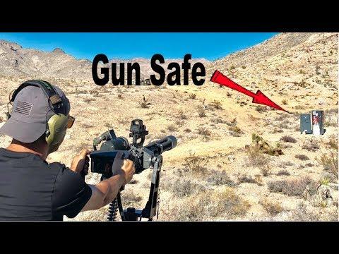 MiniGun vs Gun Safe