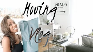 MOVING VLOG - FURNISHED APPARTMENT TOUR, HOMEWARE HAUL, GROCERY HAUL | Style With Substance