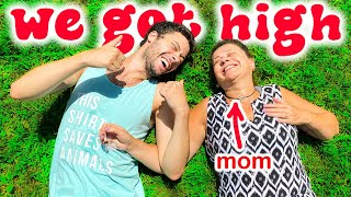 I Tried Weed For The First Time With My Mom
