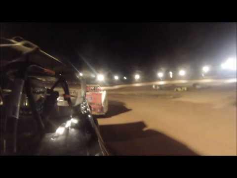 #16 Brian Hooks - Win - Sportsman - Wartburg Speedway 8-13-16 - in car camera