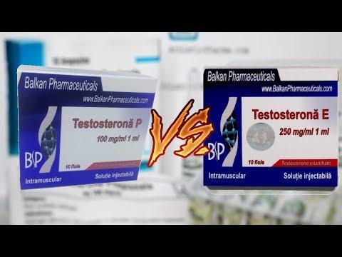 Тестостерон Пропионат или Энантат. Какой эфир выбрать? Сравнение