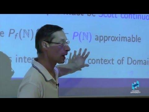 Prof. Eugenio Moggi on Partial Continuous Maps