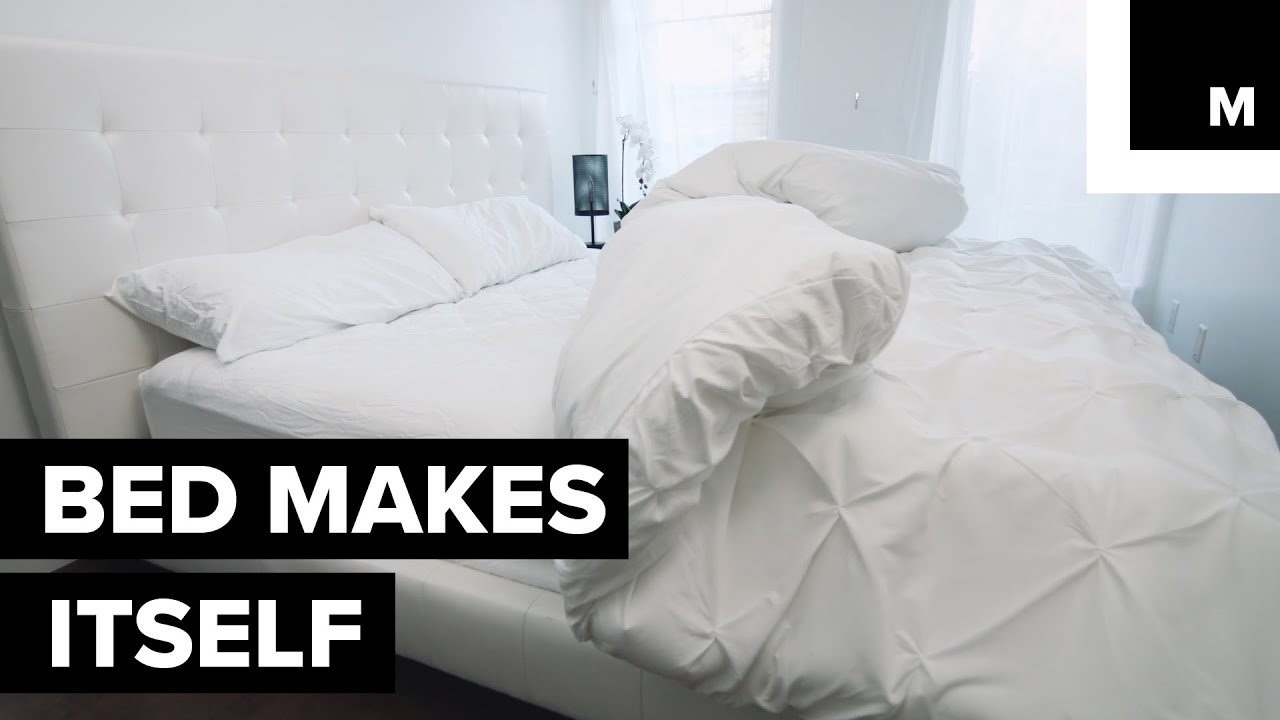 Great Bed Makes Itself Good Looking
