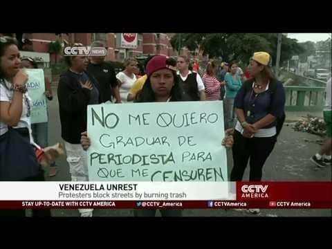 Protests in Venezuela Escalate in Violence