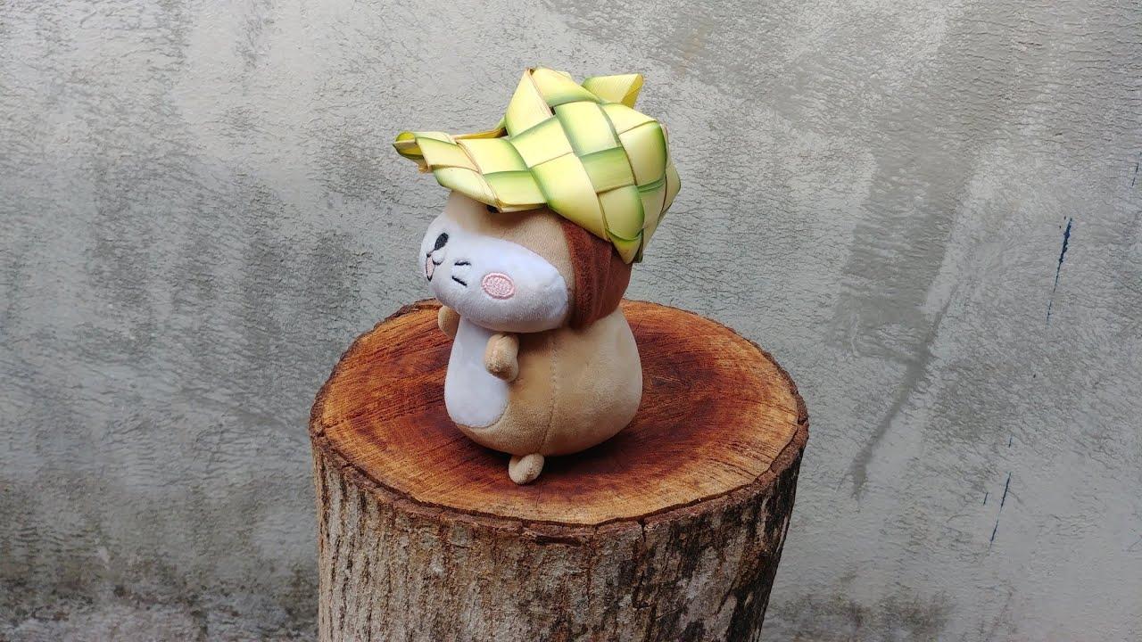 Hướng dẫn làm cái nón kết bằng lá dừa