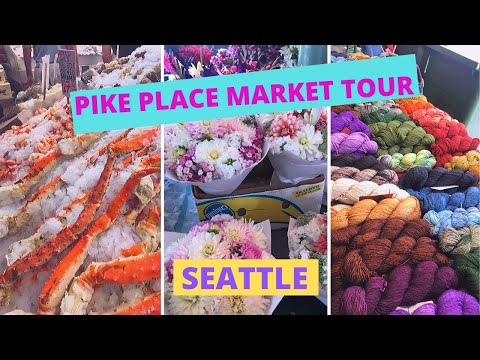 pike-place-market-walk-around-tour-|-first-starbucks-|-seattle-travel-guide-|-seafood,-flower,-craft