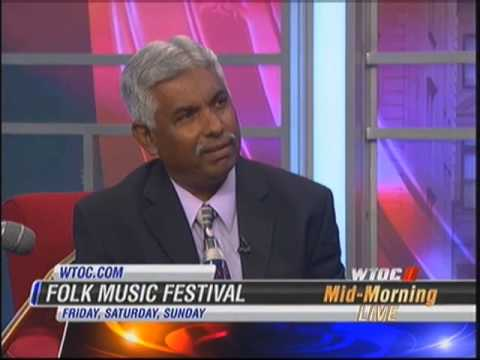 Chris Desa on 2012 Savannah Folk Music Festival Mid-Morning Live WTOC-TV mp4