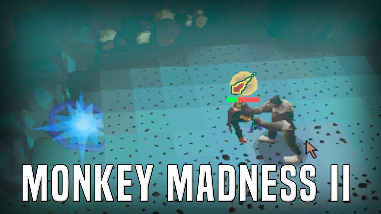 demonic gorilla guide monkey madness 2