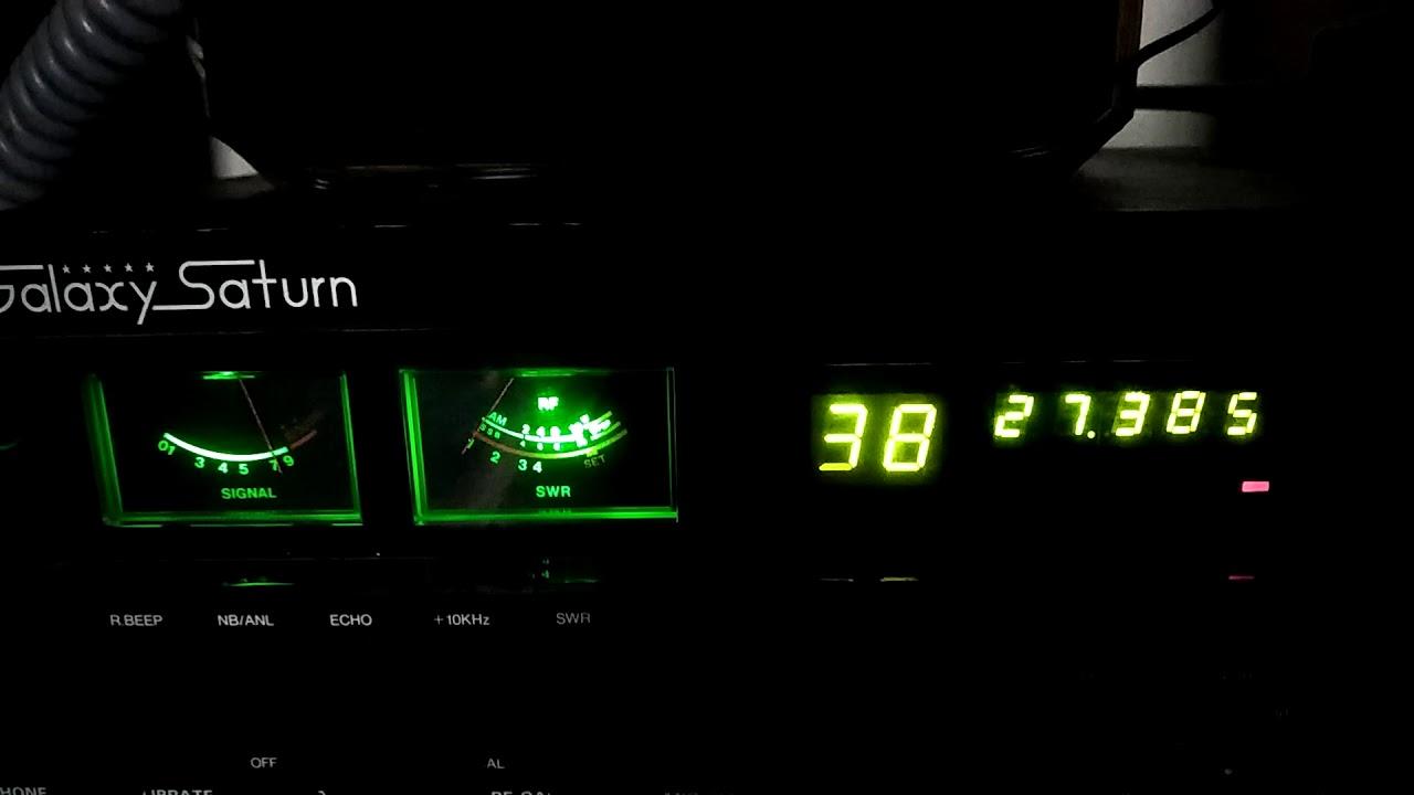 Cb pirate radio station # 104 Devon Pa  USA to Trinidad's Witch Dr