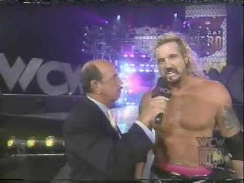 (3.17.1997) Road to Spring Stampede 1997 Part 2 - Macho Man Randy Savage picks on DDP