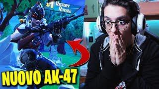 PREMIÈRE VRAIE VICTOIRE AVEC LE NOUVEAU AK-47 ! - Fortnite [ITA]