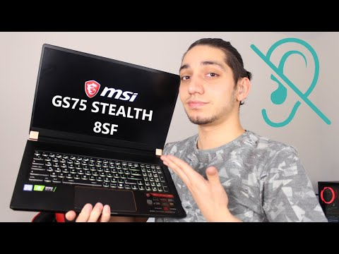 Msi GS75 STEALTH 8SF İncelemesi - İŞARET DİLİ