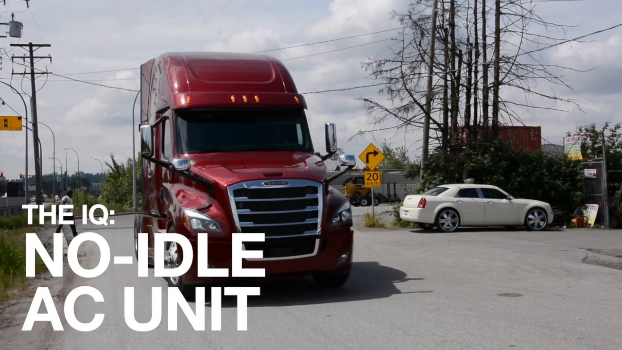 The iQ: Quiet No-idle Air Conditioning Unit for Trucks