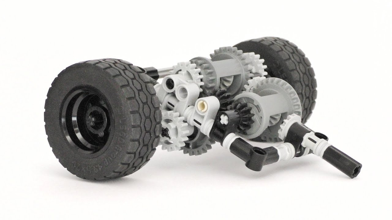 Lego Technic Limited Slip Differential System - Lego Technic Mastery