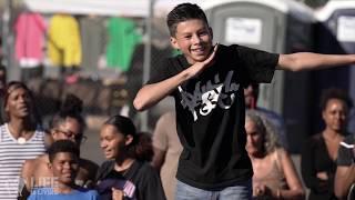 ReiNa Queen Me vs Popping Jun DemBagueBoyz at Life is Living Dance Battle FINAL | YAK FILMS