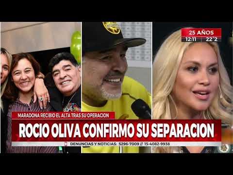 Diego Maradona recibió el alta luego de ser operado