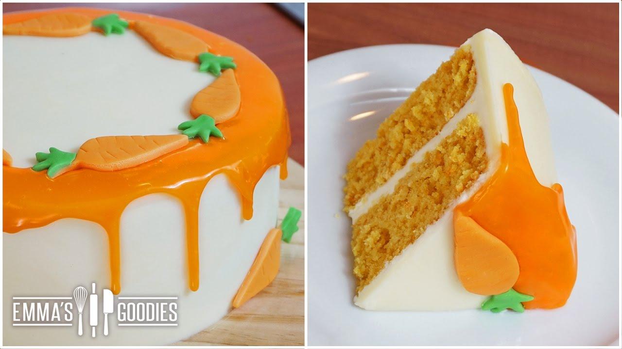 Italian Carrot Cake Recipe Drip Cake Youtube