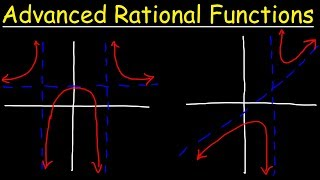 Graphing Advanced Rational Functions With Asymptotes and Holes Using Transformations