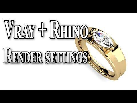 Vray 4 Rhino render settings