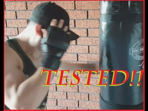Venum MMA Training Gloves Test and Review