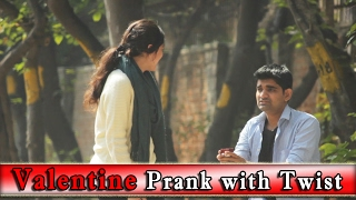 Valentine Prank on Girls with Twist - Prank on Girls | THF - Ab Mauj Legi Dilli