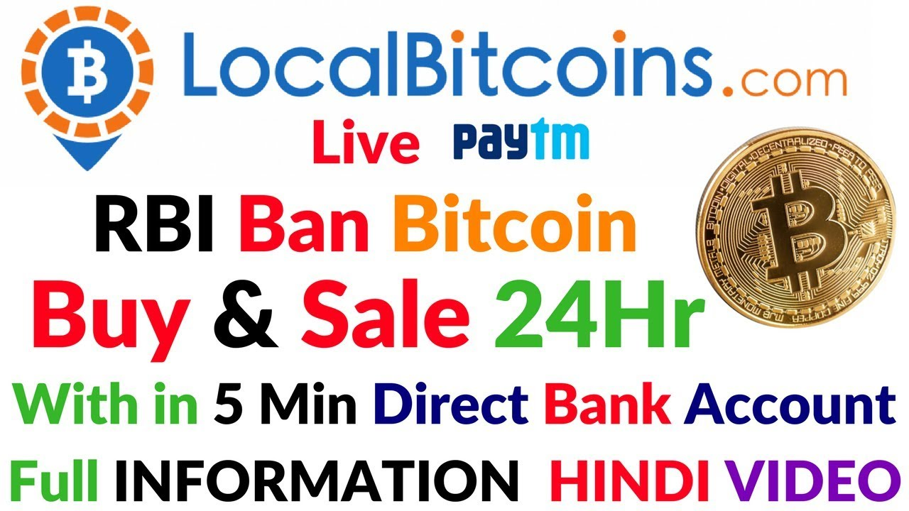 Localbitcoins Exchange Live Buy Sell Bitcoin Paytm India ...