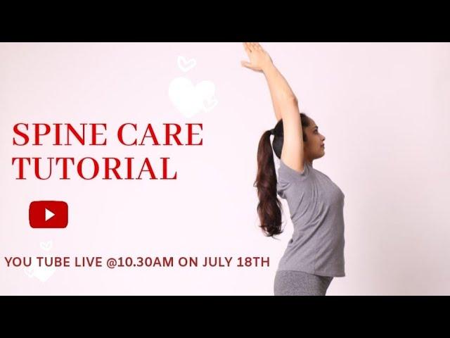 SPINE CARE TUTORIAL | LIVE STREAM | Q & A | Spine Care Talk | Spine Care Tips | Dr. Akhila Vinod