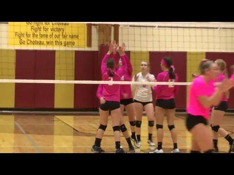Choteau volleyball triumphs over Fairfield