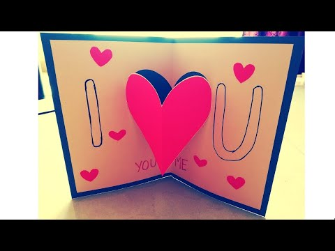Simple Valentine's Day Card | Craft it Right
