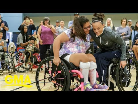 Louie Cruz - Young Girl Surprised With New Wheelchair!