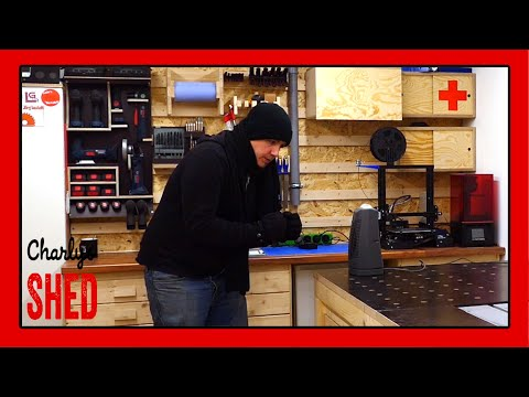So werde ich meine Werkstatt im Winter heizen Teil 2. Infrarotheizung im Test