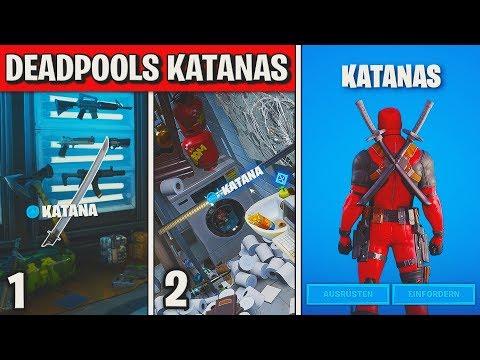 fortnite:-finde-deadpools-katanas-⚔-alle-2-orte-(katana)- -deadpool-woche-4-herausforderung- -detu