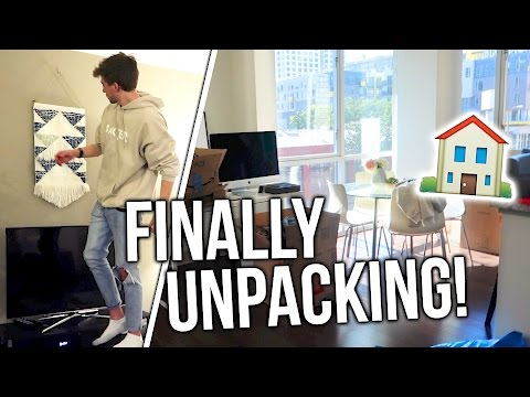 Unpacking & Organizing MY NEW HOME! Moving Vlogs!!