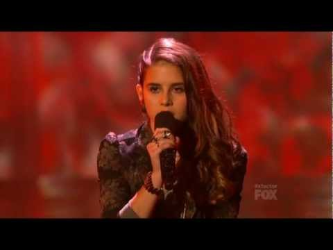 "Carly Rose Sonenclar ""As Long As You Love Me"" (Justin Bieber): X FACTOR USA 2012!"