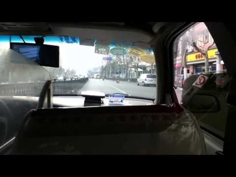 shanghai cab ride