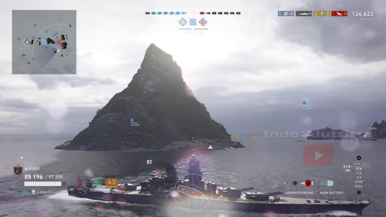 IJN Battleship Yamato - World of Warships: Legends - YouTube