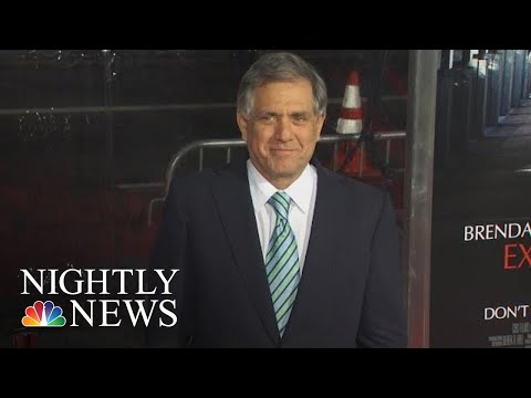 Les Moonves $120M Settlement On Hold As CBS Investigates New Accusations Of SH   NBC Nightly News