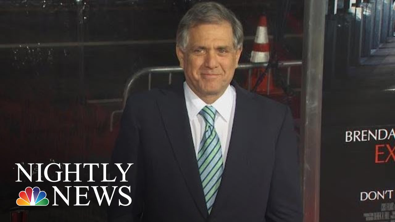 Les Moonves $120M Settlement On Hold As CBS Investigates Sexual Harassment | NBC Nightly News