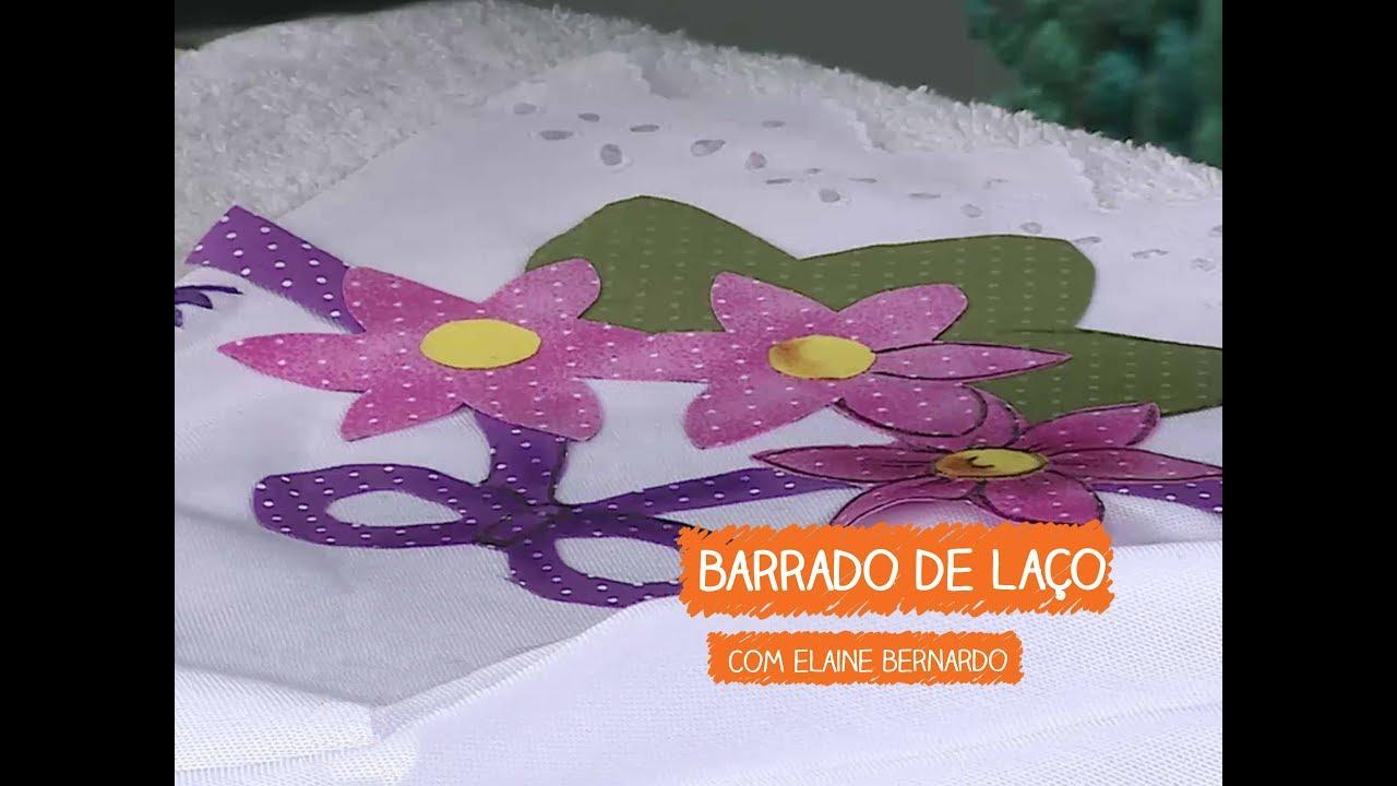 Adesivo De Parede Sala ~ Capa de Laço com Elaine Bernardo Vitrine do Artesanato na TV Rede Família YouTube