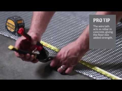 How To Install Linear Shower Drains - The Tile Shop