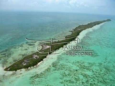 Flying Over Belize!