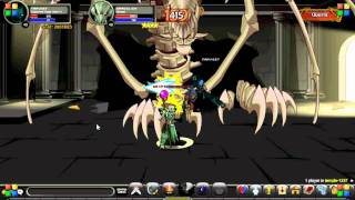 AQWorlds - Tarvo27 Dracolich and Cryptkeeper Lich Solo