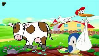 Leylek Leylek Havada Çocuk Şarkısı - Animasyonlu Çocuk Şarkıları 2017