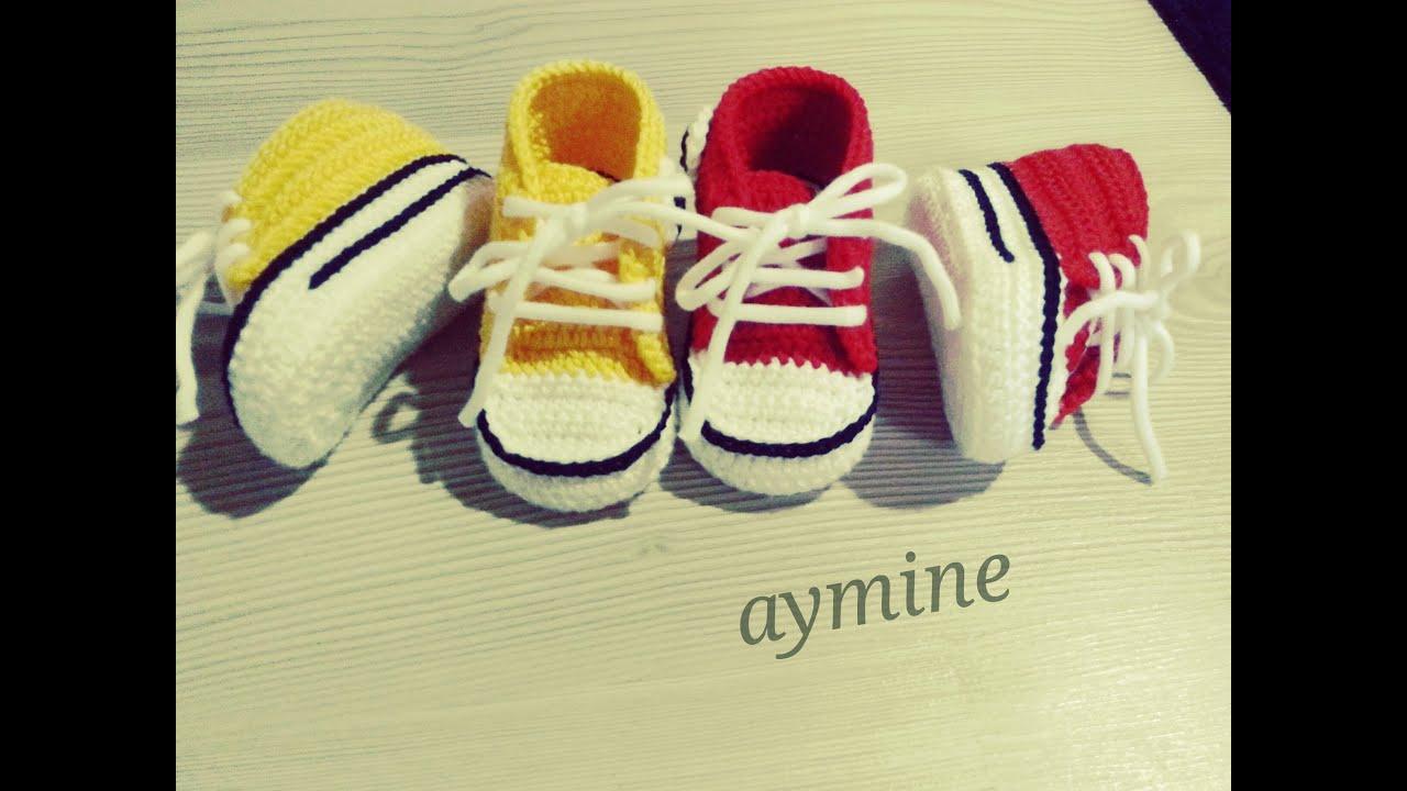 1,5 Yaş Convers Bebek Patiği Tabanı (Bölüm 1)
