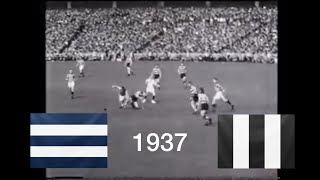 Historic Football Footage | 1937 VFL Grand Final