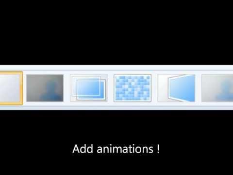 How to Edit with WindowsLiveMovieMaker and GoogleChromeScreenCapture