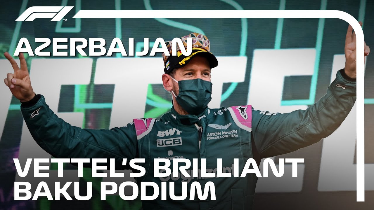 L'histoire du brillant podium de Seb à Bakou    Grand Prix d'Azerbaïdjan 2021