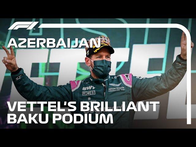The Story Of Seb's Brilliant Baku Podium   2021 Azerbaijan Grand Prix
